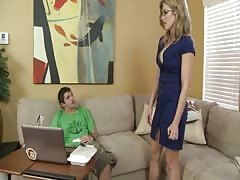 Stepmom Seduces Not Real Son