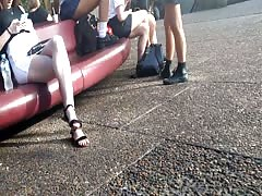 Bare Candid Legs - BCL#228