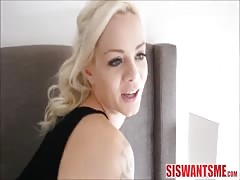Hot Step Sister Elsa Jean Fucked By Big Brother