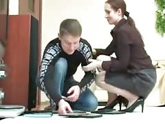 Mom abuses her step son