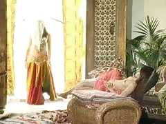 Persian Girl belly dance and fuck in ass and pussy