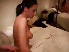 Hot first time anal