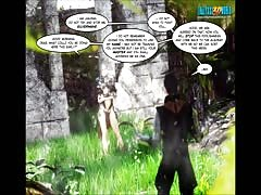 3D Comic: Legacy. Episode 27, When the laughter stops...