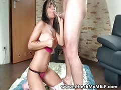 Check My MILF Real amateur couples fucking to win cash