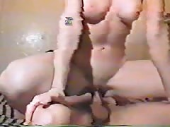 Vintage Russian sex with an ultra slender mademoiselle
