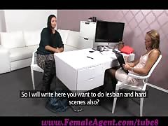 FemaleAgent. Handcuffed, spanked and fucked
